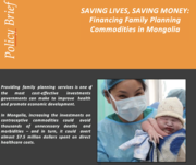 Financing Family Planning Commodities in Mongolia