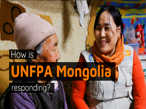 COVID-19: How is UNFPA Mongolia Responding?